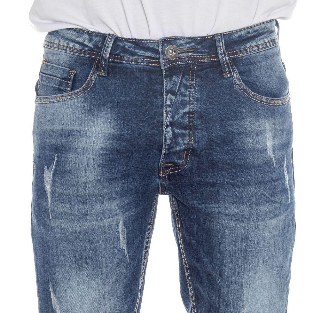 sconti abbigliamento uomo Bermuda LPHM1057 BLU Cafedelmar Shop