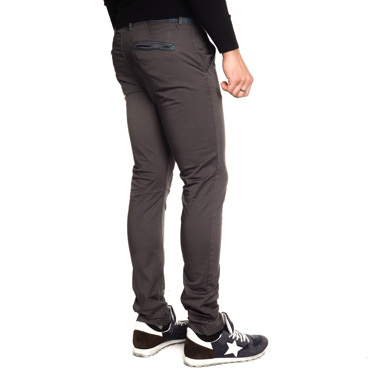 men's clothing sales Pantaloni OUTLET 14315 BLU Cafedelmar Shop
