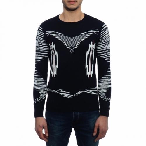 abbigliamento Maglieria OUTLET uomo Maglia NAK16319 NEROGRANIT Cafedelmar Shop