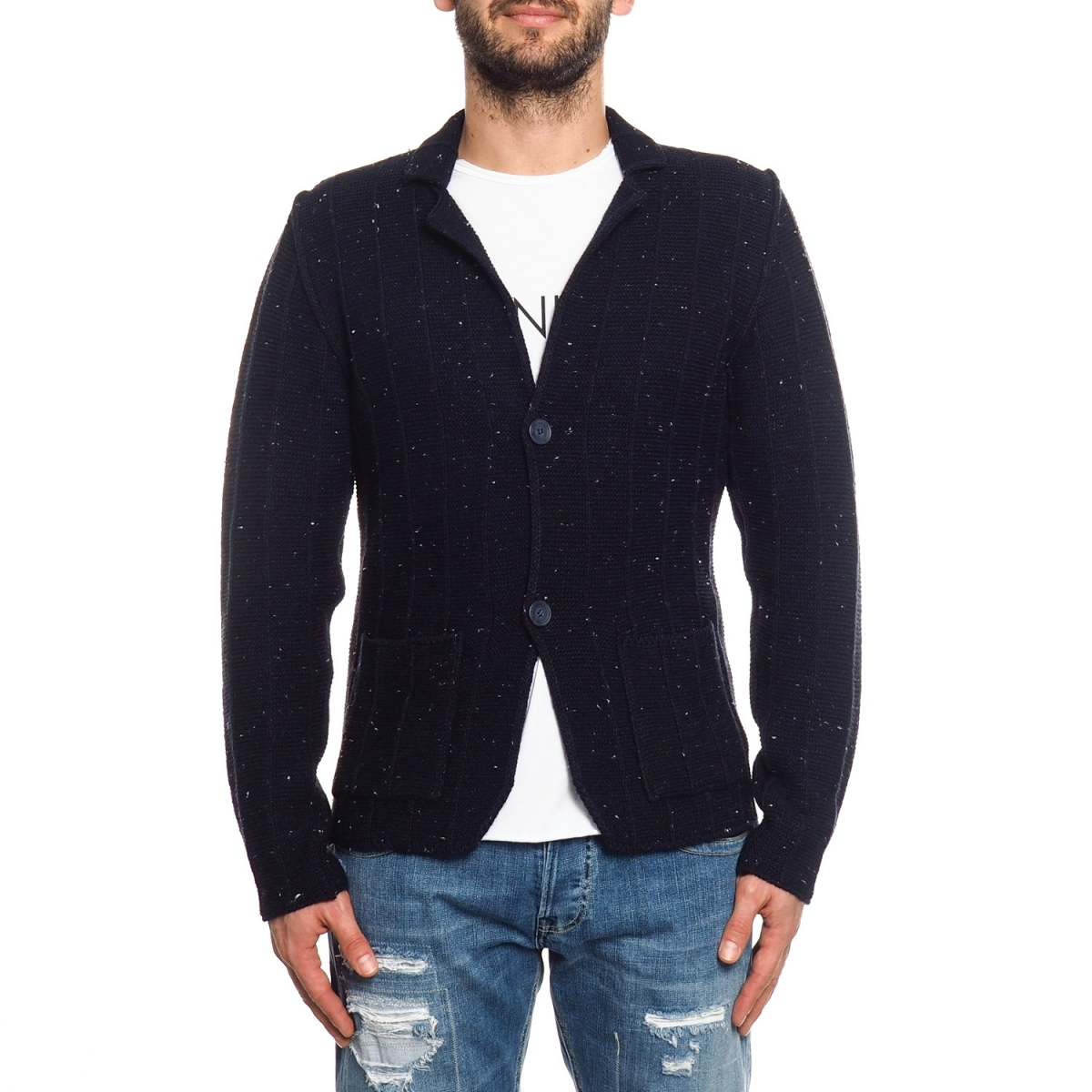 vêtements Maglieria OUTLET homme GLDASON NERO Cafedelmar Shop