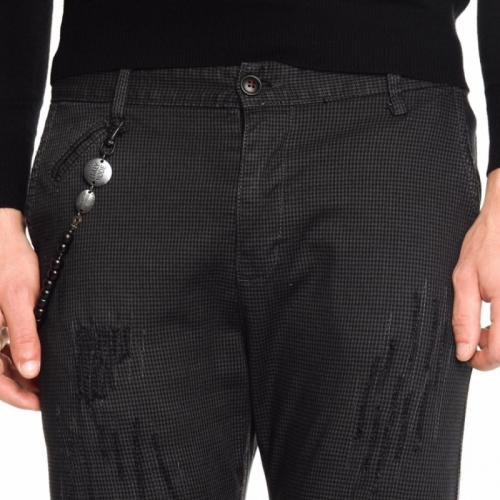 vêtements Pantaloni OUTLET homme LP2758V NERO Cafedelmar Shop