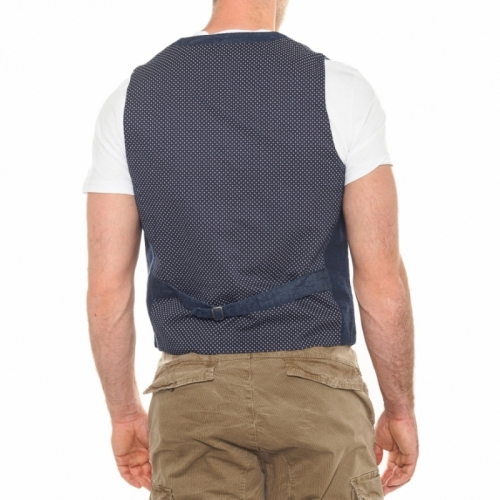 men's clothing sales Giacche e Gilet OUTLET GLS17380 BLU Cafedelmar Shop