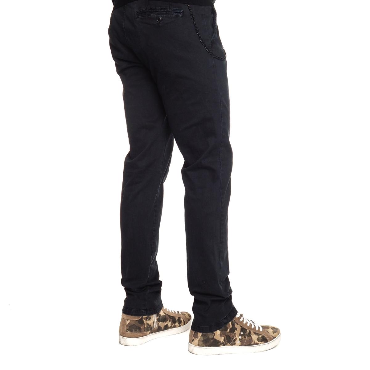 vêtements Pantaloni OUTLET homme LP2736 BLU SCURO Cafedelmar Shop