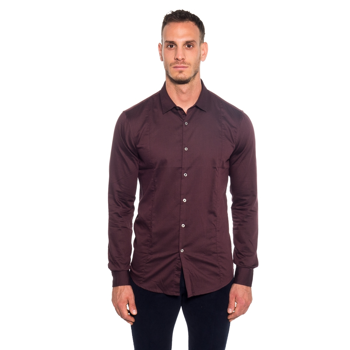clothing Shirts men Camicia GL125N GIANNI LUPO Cafedelmar Shop