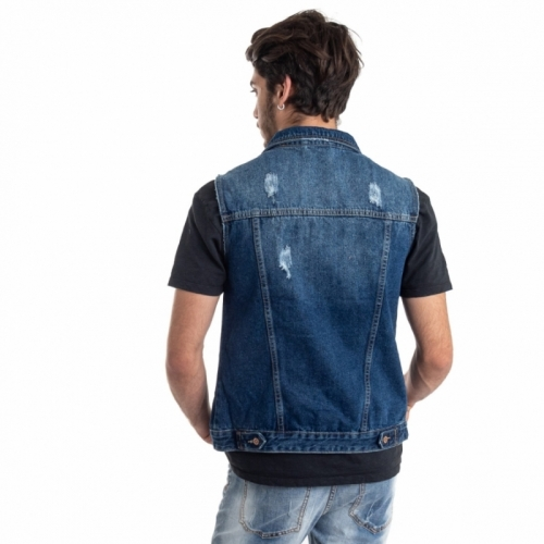 Verkäufe von Herrenbekleidung Jacken LPHM1086 BLU Cafedelmar Shop