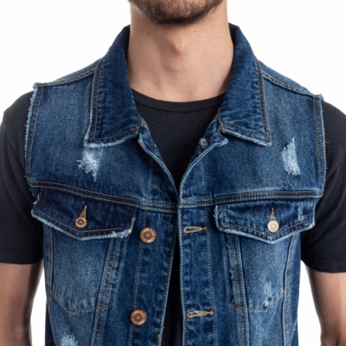 vêtements Vestes homme LPHM1086 BLU Cafedelmar Shop