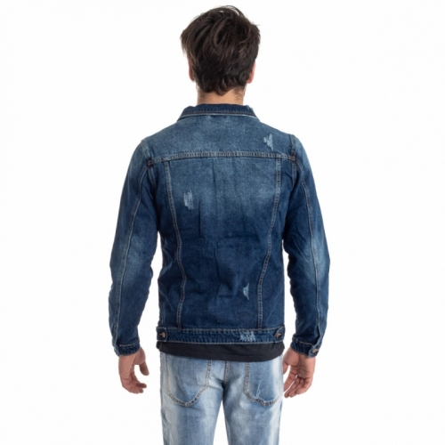 clothing Jackets men Giubbino Jeans LPHM1087 LANDEK PARK Cafedelmar Shop