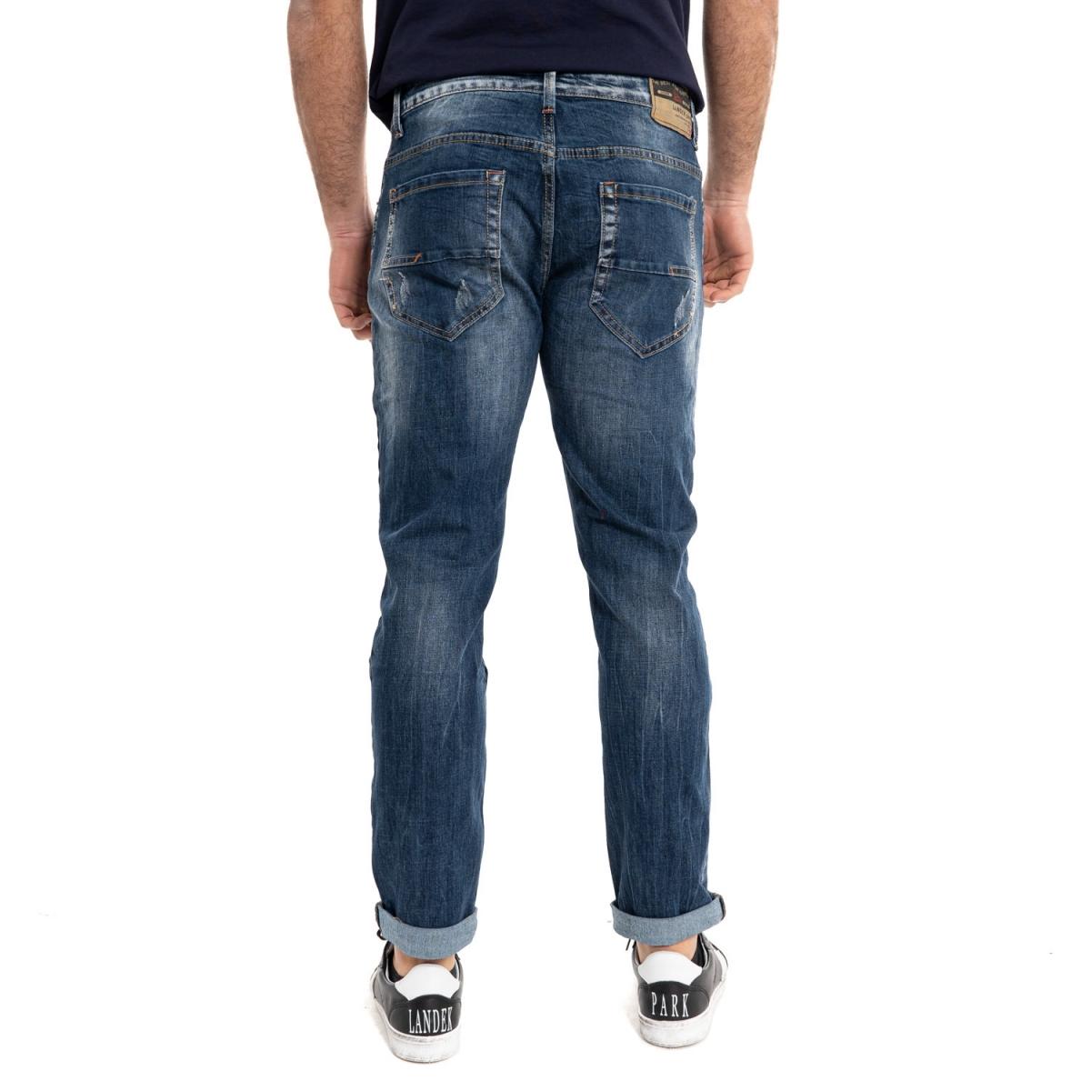 Kleidung Jeans mann Jeans LPHM1075 LANDEK PARK Cafedelmar Shop