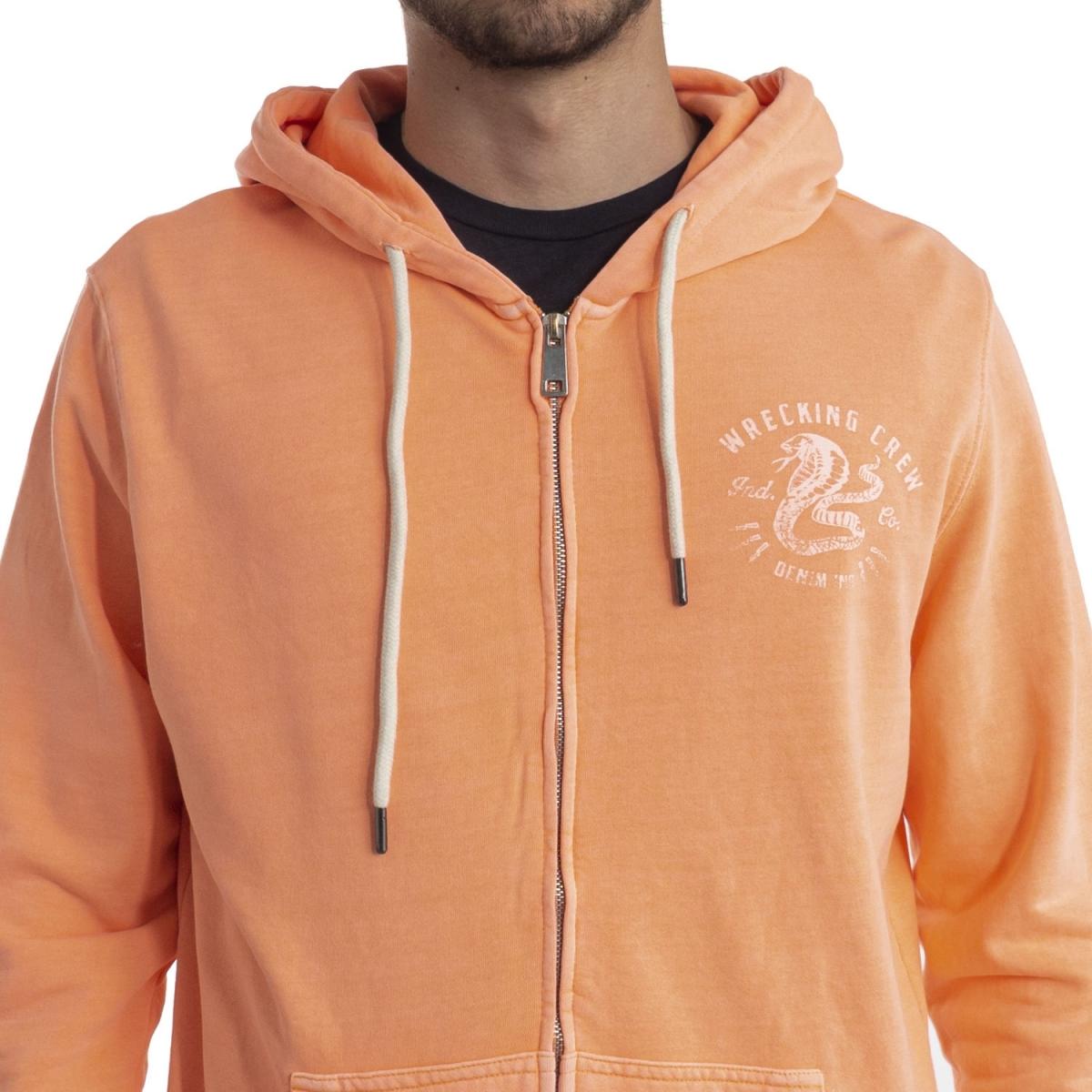 clothing Sweatshirts men Felpa con cappuccio LPLK947 LANDEK PARK Cafedelmar Shop