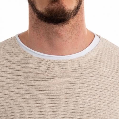 ropa Prendas de punto hombre Maglia GLBW731 GIANNI LUPO Cafedelmar Shop