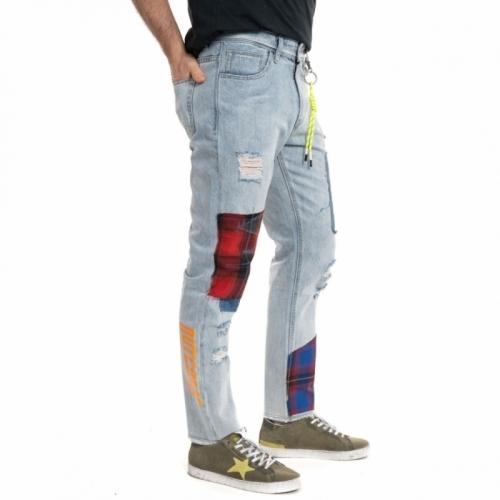 Verkäufe von Herrenbekleidung Jeans GLOT688Y BLU Cafedelmar Shop