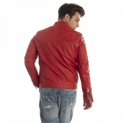 clothing Jackets men Giubbino biker GL9525 GIANNI LUPO Cafedelmar Shop
