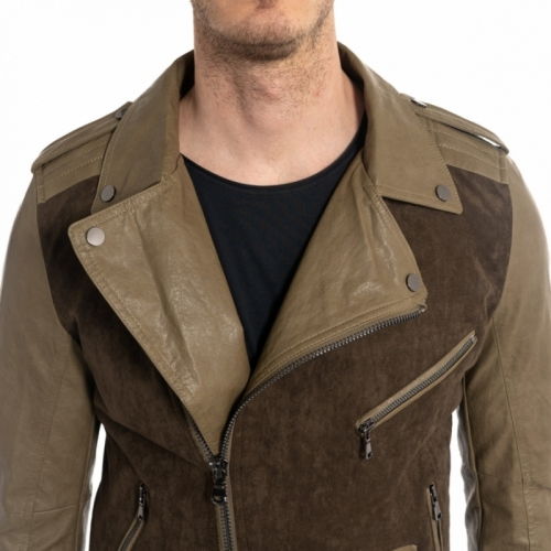 vêtements Vestes homme GL9520 MARRONE Cafedelmar Shop