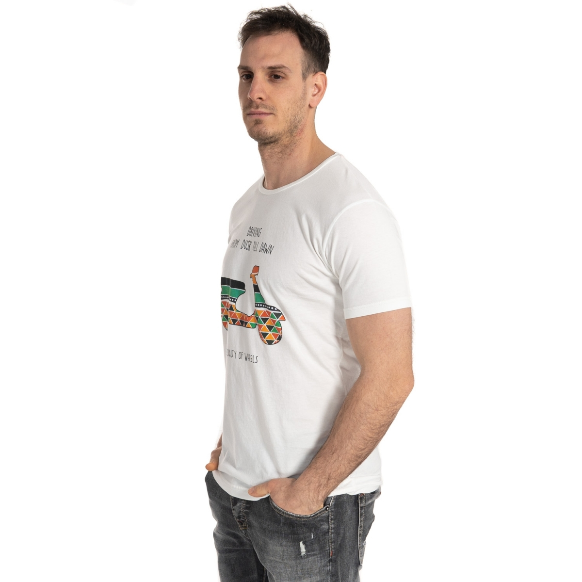 clothing T-shirt men T-Shirt LP23-251 LANDEK PARK Cafedelmar Shop