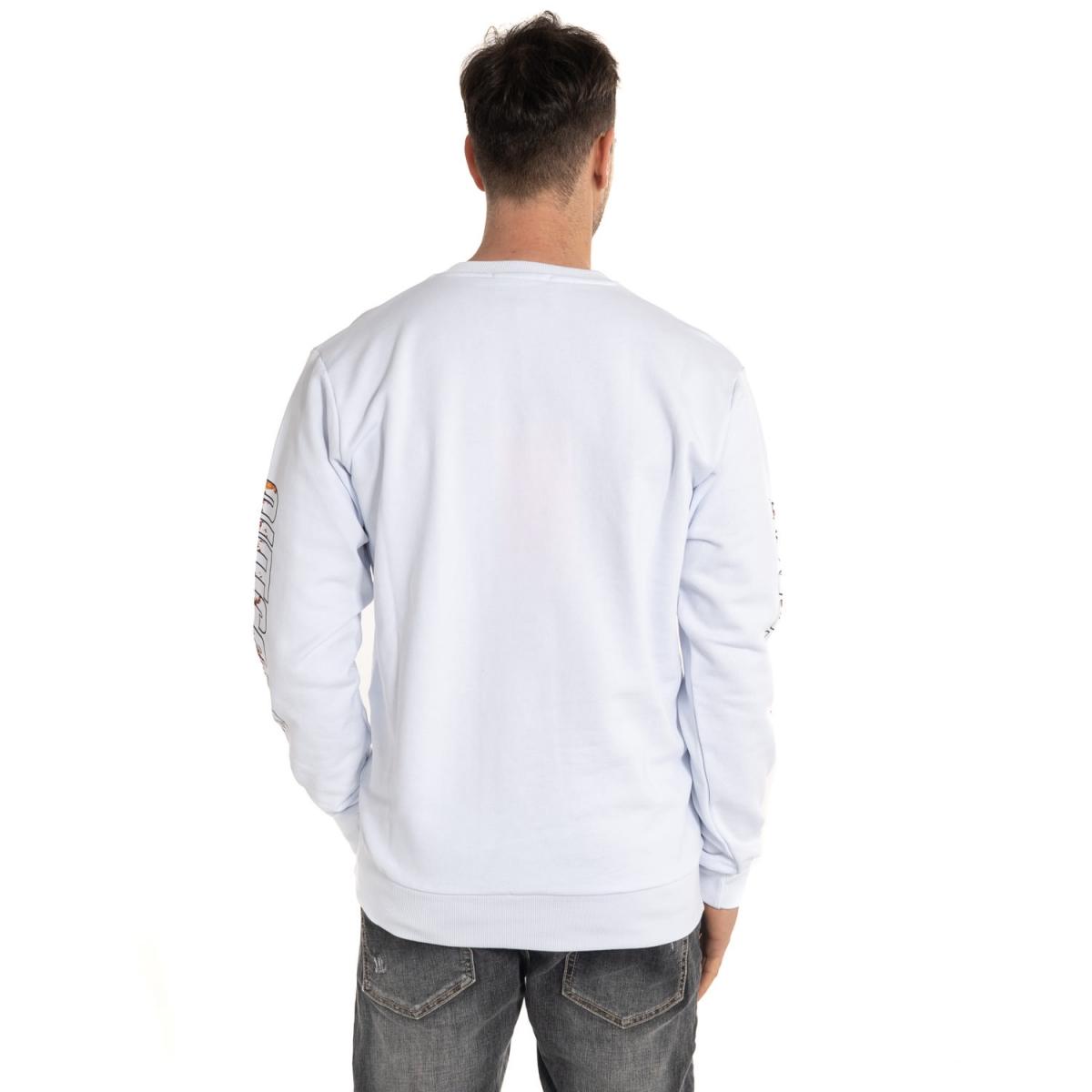 Kleidung Sweatshirts mann Felpa GLUG70673 GIANNI LUPO Cafedelmar Shop