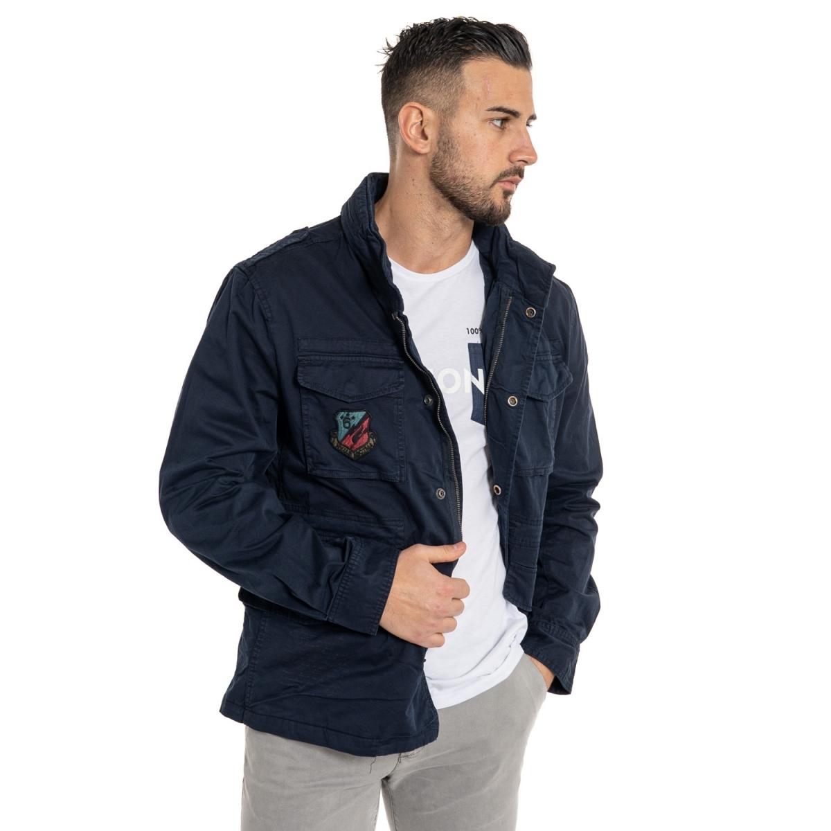 Verkäufe von Herrenbekleidung Jacken LDX5604 VERDE Cafedelmar Shop