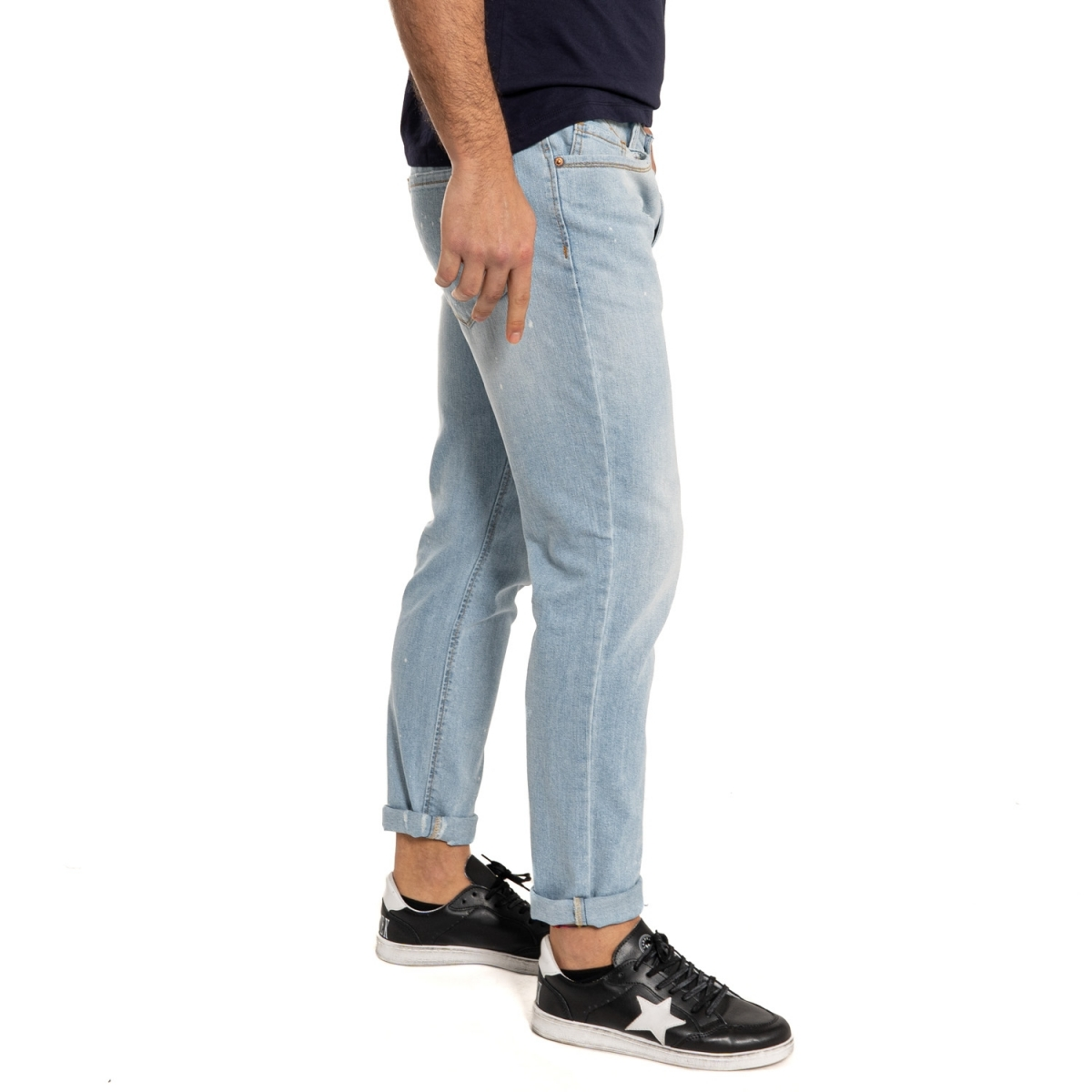 men's clothing sales Denim LPHM1090-3 BLU Cafedelmar Shop