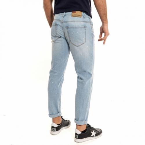 abbigliamento Jeans uomo Jeans Slim fit LPHM1090-3 LANDEK PARK Cafedelmar Shop
