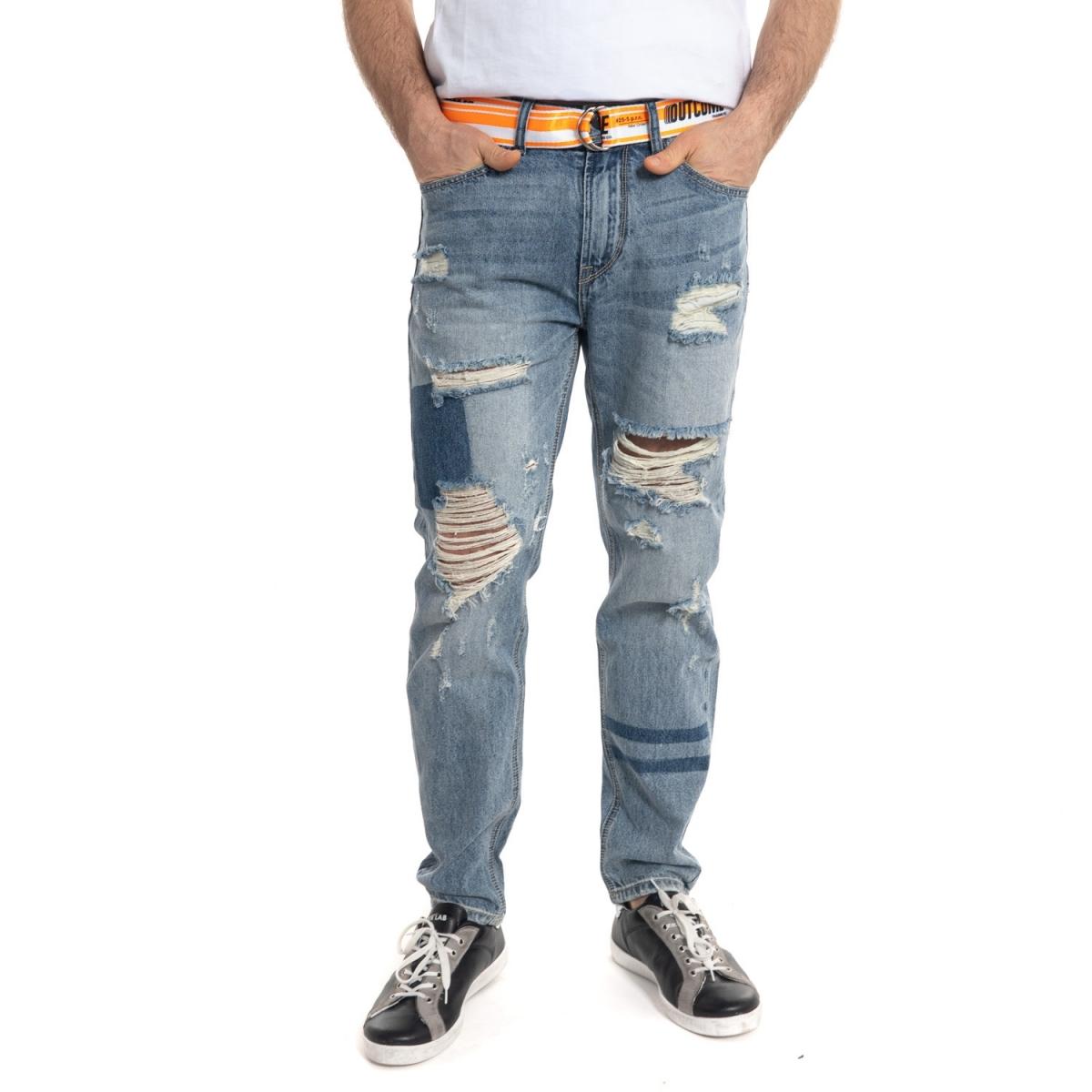 clothing Denim men Jeans GLOT691Y GIANNI LUPO Cafedelmar Shop