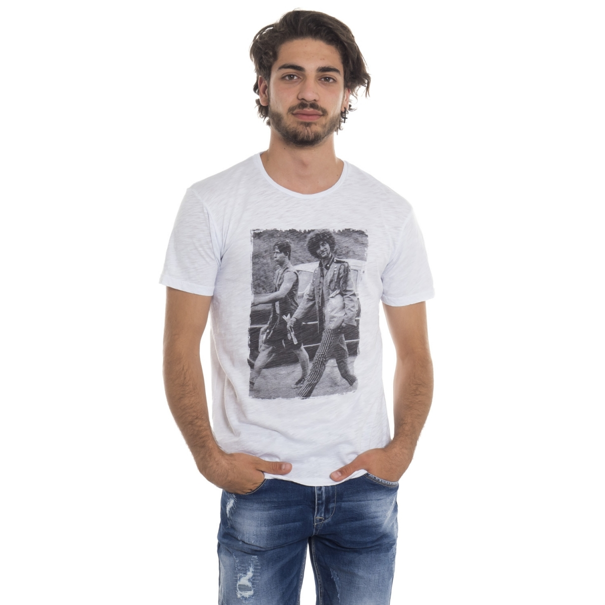 clothing T-shirt men T-Shirt LP23-2 LANDEK PARK Cafedelmar Shop