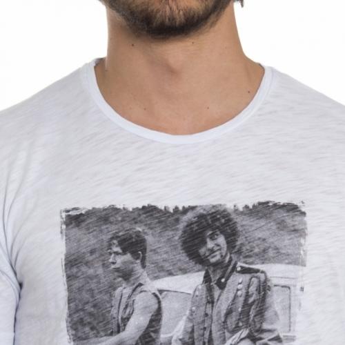 vêtements T-shirt homme LP23-2 BIANCO Cafedelmar Shop