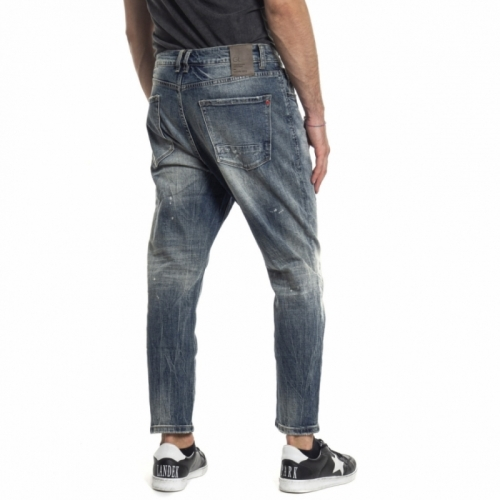abbigliamento Jeans uomo Jeans carrot-fit GL088F GIANNI LUPO Cafedelmar Shop