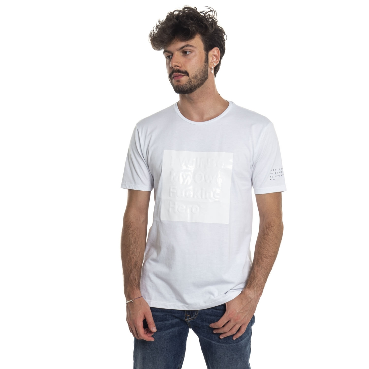 clothing T-shirt men T-Shirt GLPL1518 GIANNI LUPO Cafedelmar Shop