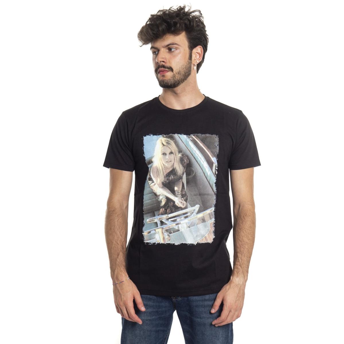 vêtements T-shirt homme LPX16-30 NERO Cafedelmar Shop