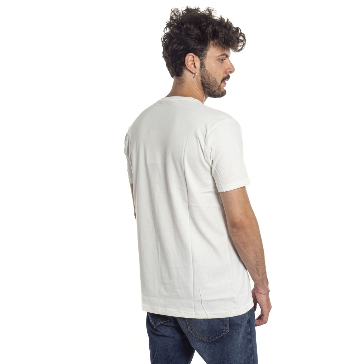 vêtements T-shirt homme LPX16-34 BIANCO Cafedelmar Shop
