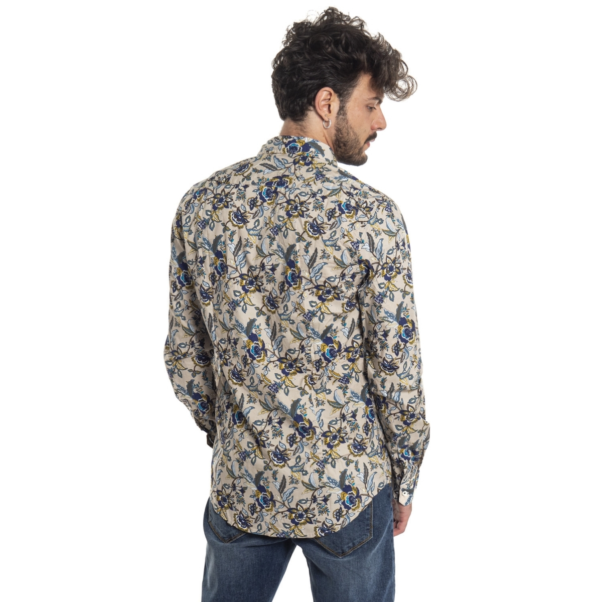 vêtements Chemises homme LPC0001 MARRONE Cafedelmar Shop