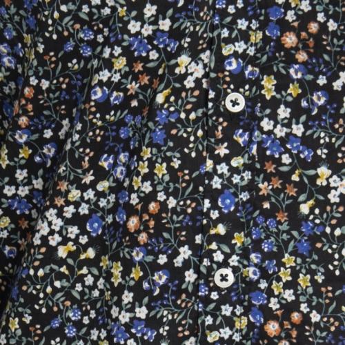 abbigliamento Camicie uomo Camicia a fiori LPC0003 LANDEK PARK Cafedelmar Shop