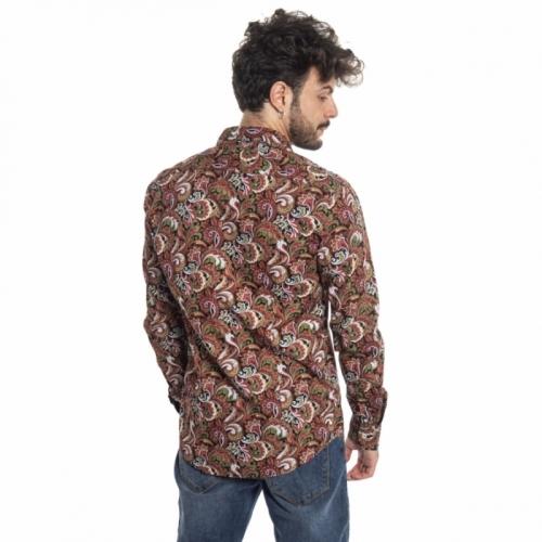 vêtements Chemises homme LPC0002 ROSSO Cafedelmar Shop