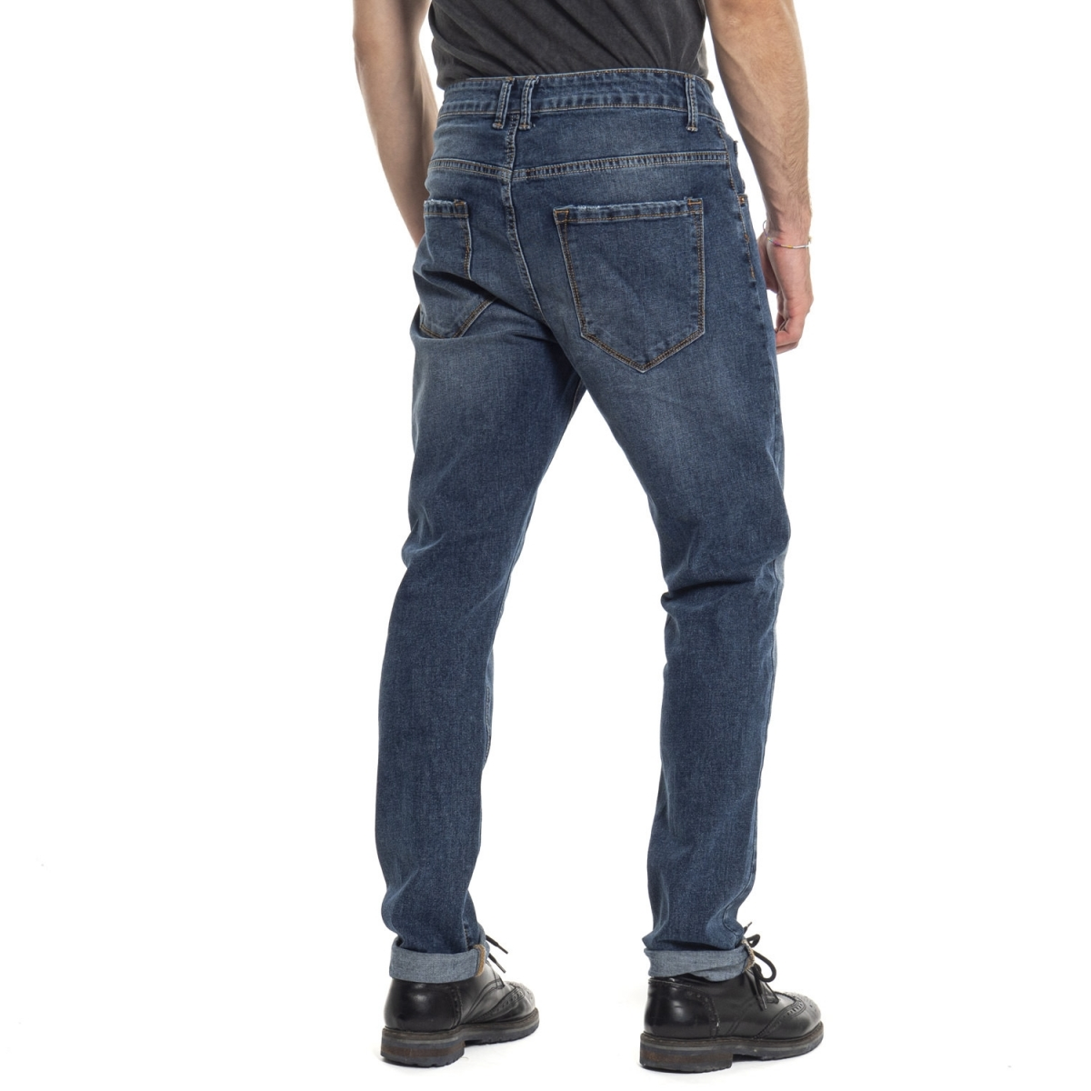 vêtements Jeans homme ATM1088-4 BLU Cafedelmar Shop