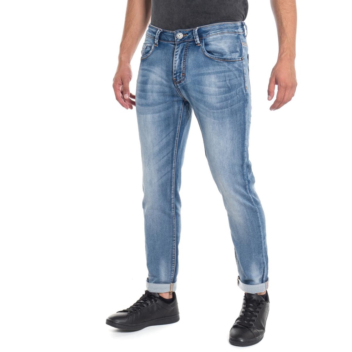 abbigliamento Jeans uomo Jeans slim fitLPHM1095 LANDEK PARK Cafedelmar Shop