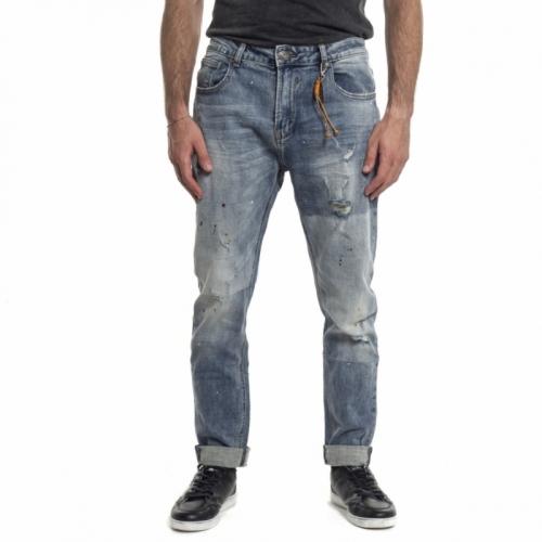 abbigliamento Jeans uomo Jeans GL083F GIANNI LUPO Cafedelmar Shop