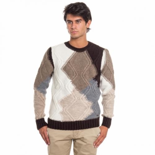 Maglione da uomo a girocollo Gianni Lupo GLBW786v