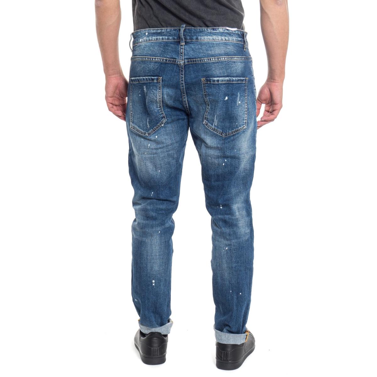 abbigliamento Jeans uomo Jeans Slim Fit LPY1798 LANDEK PARK Cafedelmar Shop