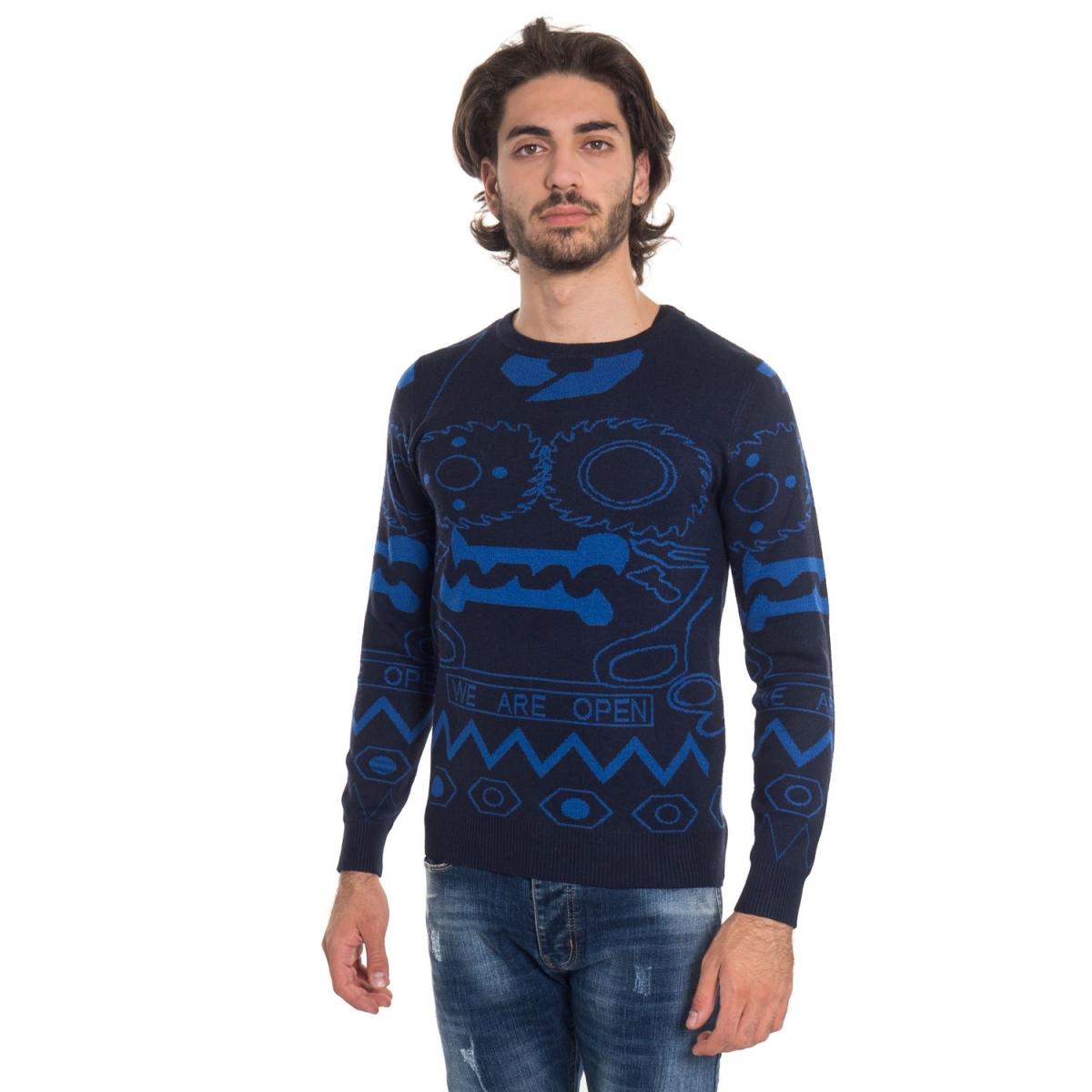 vêtements Tricots homme LPR7635W NERO Cafedelmar Shop