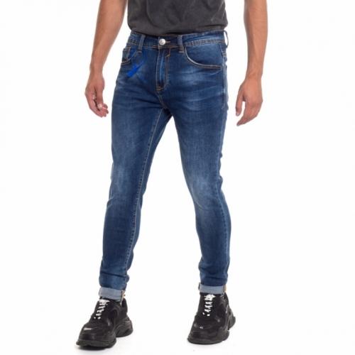 Jeans da uomo slinny fit Landek Park LPM2214