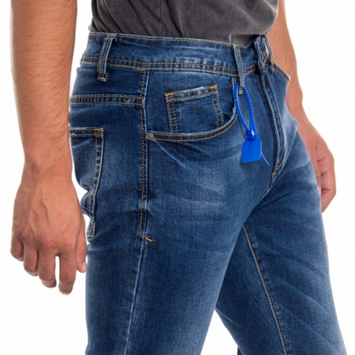 abbigliamento Jeans uomo Jeans Skinny fit LPM2214 LANDEK PARK Cafedelmar Shop