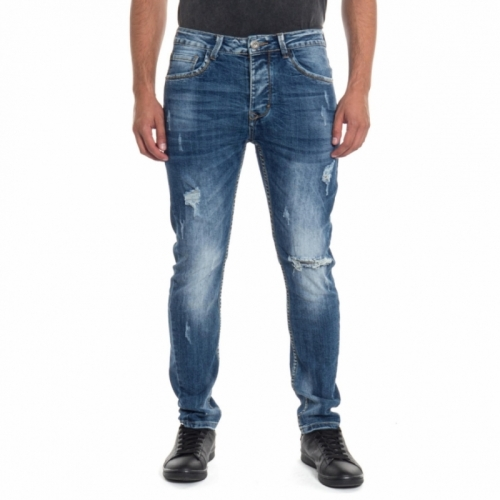 abbigliamento Jeans uomo Jeans slim fit LPHM1049P LANDEK PARK Cafedelmar Shop