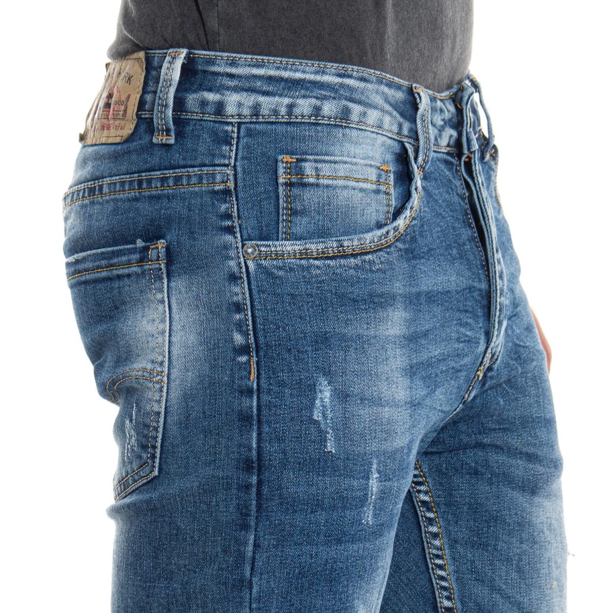 Kleidung Jeans mann Jeans LPHM1049P LANDEK PARK Cafedelmar Shop