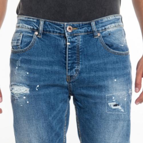 abbigliamento Jeans uomo Jeans Slim Fit LPY1772 LANDEK PARK Cafedelmar Shop