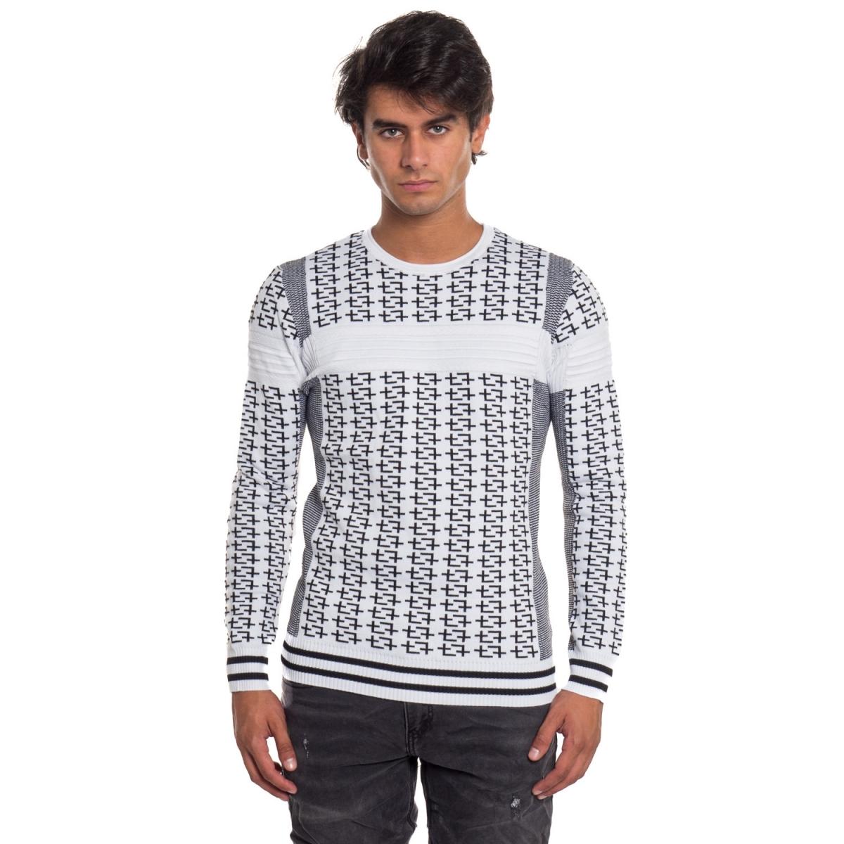 ropa Prendas de punto hombre Maglia ND6251 NEROGRANIT Cafedelmar Shop