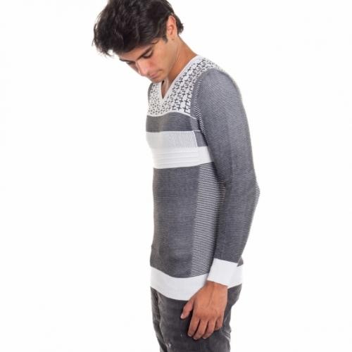 clothing Knitwears men Maglia ND6027 NEROGRANIT Cafedelmar Shop