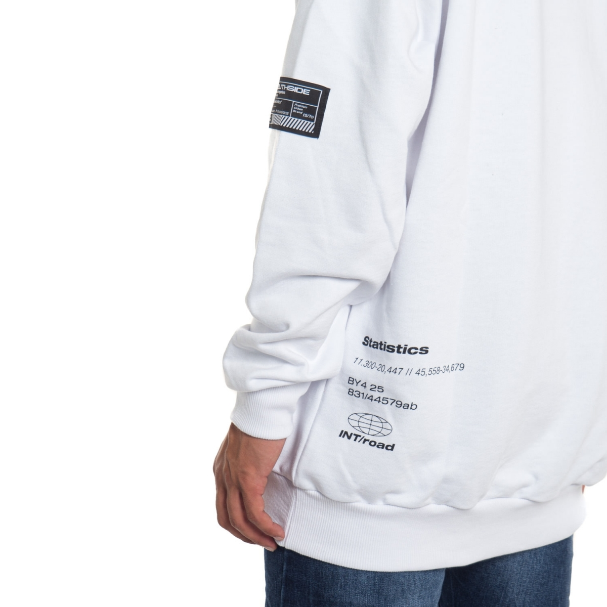 abbigliamento Felpe uomo Felpa con cappuccio SX20-16ST SOUTHSIDE Cafedelmar Shop