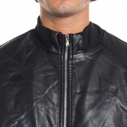 abbigliamento Giubbini uomo Giubbino in pelle YT9608 LANDEK PARK Cafedelmar Shop