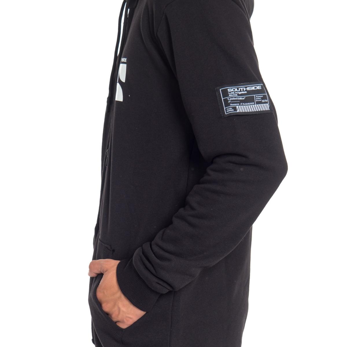 abbigliamento Felpe uomo Felpa con zip e cappuccio SX4-11ST SOUTHSIDE Cafedelmar Shop