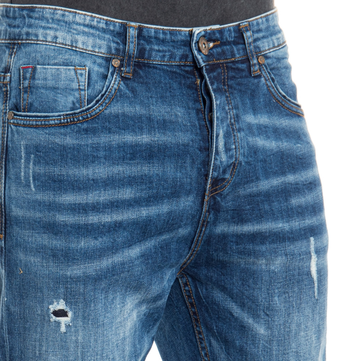 vêtements Jeans homme LPY1799 BLU Cafedelmar Shop