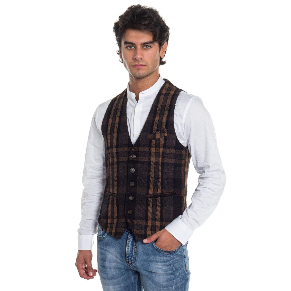 ropa Chaleco hombre Gilet GLGN21383 GIANNI LUPO Cafedelmar Shop
